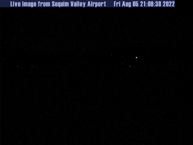 Sequim Valley Airport Web Cam